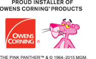 Owens Corning and Pink Panther Installer Lock Up copy